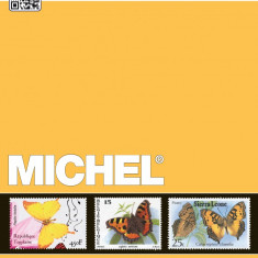 Michel catalog fluturi - ganze Welt 2015