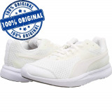 Pantofi sport Puma Escaper Pro pentru barbati - adidasi originali, 39, 40, 40.5, 41, 42, 42.5, 43, 44, 44.5, 45, 46, 47, Alb, Textil