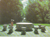 Bnk cp Targu Jiu - Masa Tacerii - circulata - marca fixa, Printata