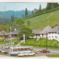 Bnk cp Motelul Agapia - Vedere - circulata, Printata