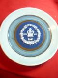 Farfurie Aniversara Silver Jubilee al Reginei Elisabeta IIa semnata de autor