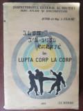 Karate in lupta corp la corp- I. Enache