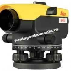 Set Leica NA 332 - nivela optica - cu trepied si stadie 5m