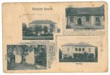 2943 - ZAM, Hunedoara, Romania - old postcard - used - 1910, Circulata, Printata