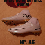 Ghete de fotbal NIKE, 46, Gri