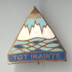 PIONIERI - TOT INAINTE - LITORAL -  Insigna varianta  EMAIL