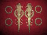 Vechi ornamente bronz masiv pentru mobila  NR 7, Ornamentale