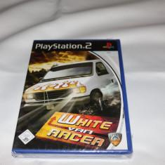 [PS2] White Van Racer - joc original Playstation 2 PS2 - NOU , SIGILAT -
