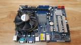 Vand KIT 775 cu DDR3 Asrock G41M-GS3 cu C2D E6400 cooler la 100lei, Pentru INTEL, LGA775, DDR 3