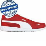 Pantofi sport Puma Fallon pentru barbati - adidasi originali, 40, 42, 42.5, 43, 44, 44.5, 45, 46, Rosu, Textil