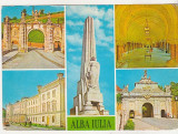Bnk cp Alba Iulia - Vedere - circulata - marca fixa, Printata