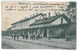 2367 - LUNCA MURESULUI, Alba, Railway Station - old postcard - used - 1904