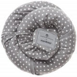 Wrap Elastic din Bumbac Organic BellyButton WildCrosses Grey