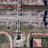 Vanzare teren intravilan cu fundatie pentru hala de productie sau depozitare