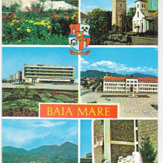Bnk cp Baia Mare - Vedere - uzata, Necirculata, Printata