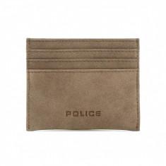 Portofel Police PT188257-3_tan, Maro, Port card