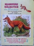 MAMIFERE SALBATICE DIN ROMANIA. MICA ENCICLOPEDIE SCOLARA - NECUNOSCUT, Ion Agarbiceanu