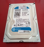 HDD WD Blue 500Gb, 500-999 GB, Western Digital