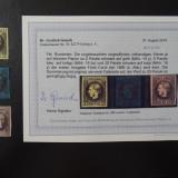 Romania LP 18 a , 19 a , 20 c , Carol cu favoriti I , Expertizat , MH/* (2), Nestampilat