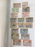 Lot Romania deparaiate,doua poze, Stampilat