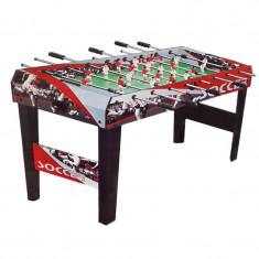Masa de fotbal, 119 cm, 3 mingi incluse
