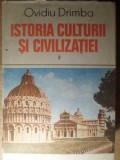ISTORIA CULTURII SI CIVILIZATIEI VOL.3 - OVIDIU DRIMBA