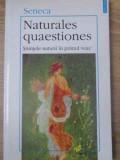 NATURALES QUAESTIONES STIINTELE NATURII IN PRIMUL VEAC - SENECA