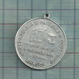 Medalie Brasov- Intreprinderea de Materiale de Constructii-40 ani-1989