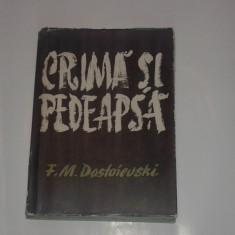 F.M.DOSTOIEVSKI - CRIMA SI PEDEAPSA