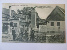 Rara! C.P. Gura-Raului/Sibiu,cenzurata 1944 foto