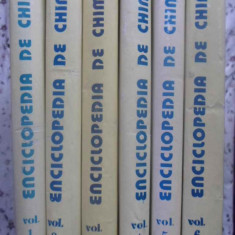 ENCICLOPEDIA DE CHIMIE VOL.1-6 - ELENA CEAUSESCU