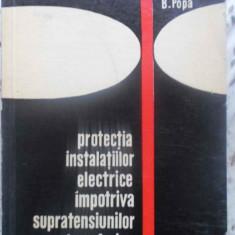 PROTECTIA INSTALATIILOR ELECTRICE IMPOTRIVA SUPRATENSIUNILOR ATMOSFERICE - D. MA, Didactica si Pedagogica
