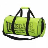 Geanta Lonsdale sala fitness gym 52x26x26cm -verde fluo- factura, garantie