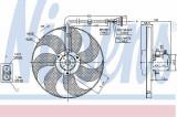 Ventilator radiator NISSENS 85683
