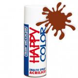 Spray vopsea Maro Portocaliu HappyColor Acrilic, 400ml