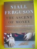 HOPCT NIALL FERGUSON / THE ASCENT OF MONEY -NEW YORK 2008  - 442 PAGINI