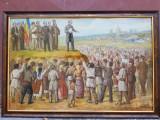 Tablou ulei pe carton semnat Ioan Statescu., Scene gen, Impresionism