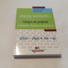 GHEORGHE ANDREI ANALIZA MATEMATICA  CONTINUITATE.PROPRIETATEA LUI DARBOUX-RM2