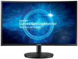 Monitor Gaming VA LED Samsung 23.5inch C24FG70FQ, Full HD (1920 x 1080), HDMI, DisplayPort, 1 ms, 144 Hz, Ecran Curbat (Negru)