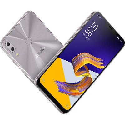 Smartphone Asus Zenfone 5Z ZS620KL 64GB 6GB RAM Dual Sim 4G Meteor Silver foto