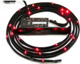 Accesoriu carcasa NZXT Sleeved LED Lighting Kit Red