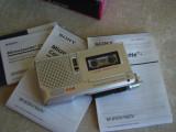 Reportofon cu microcaseta SONY M-560V - NOU