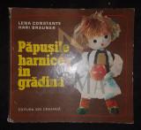 BRAUNER HARI (HARRY) si CONSTANTE LENA, PAPUSILE HARNICE IN GRADINA, 1976, Bucuresti