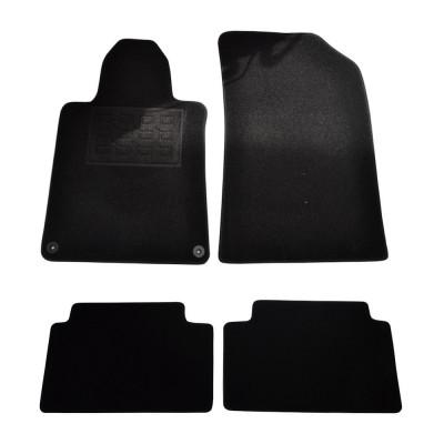 Covorase mocheta Peugeot 508 4 Usi 2011- , presuri BestAutoVest culoare Negru 4 buc. foto