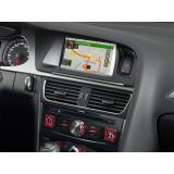 """Sistem 2 DIN cu navigatie si ecran de 7"""" pentru Audi A4 si A5, Alpine"""