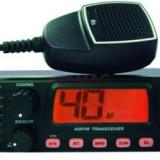 Statie radio CB TTi TCB-900, Alimentare 12 - 24V si difuzor frontal