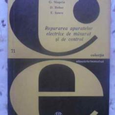REPARAREA APARATELOR ELECTRICE DE MASURAT SI DE CONTROL - G. SLAPCIU, D. BOBOC,, Mark Twain