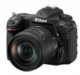 Aparat Foto D-SLR NIKON D500 + Obiectiv AF-S DX NIKKOR 16-80 mm, Filmare Ultra HD 4K, 20.9 MP, Senzor CMOS, WiFi (Negru)