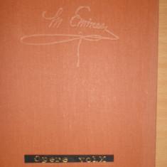 EMINESCU = OPERE VOLUMUL 10 EDITIA PERPESSICIUS AN 1989/736PAGINI