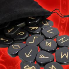 Rune set jasp rosu,cuart roz,hematit+gratis cartea totul despre rune, Christina Jewelry